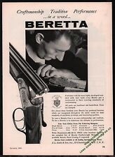1961 BERETTA Shotgun Craftsman at work AD