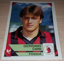 FIGURINA CALCIATORI PANINI 1993/94 FOGGIA CAINI ALBUM 1994