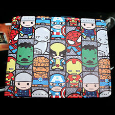 Leather Wallet Marvel Comics Characters Short Bifold Purse Credit Card Holder