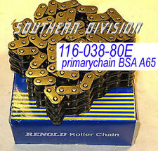 RENOLD CATENA PRIMARIA PRIMARY CHAIN BSA a50 a65 116-038-80e 19-8639 Genuine