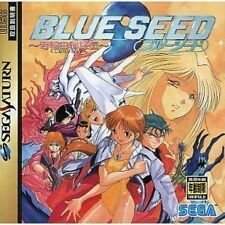 USED Blue Seed [Japan Import] Sega Saturn Free Shipping!