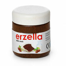 Wooden pretend role play food Erzi kitchen shop Erzella Chocolate spread Nutella