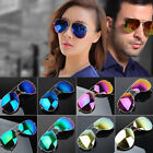 Unisex Women Men Vintage Retro Fashion Mirror Lens Sunglasses Glasses FS