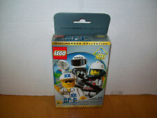 Lego 3350 THREE MINIFIG PACK CITY #1 Mini Heroes Collection w/Box & Cards
