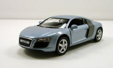 "Kinsmart Audi R8 Sports Coupe 1:36 scale 5"" diecast model car Blue K01"