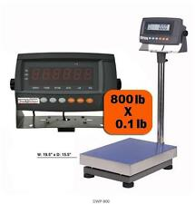 800lb Digiweigh DWP-800 Industrial Digital Bench Scale For Shipping Heavy Duty