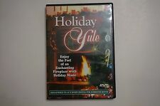 HOLIDAY YULE: VIRTUAL CHRISTMAS FIREPLACE DVD w/ MUSIC in DOLBY DIGITAL SURROUND