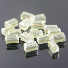 "20pcs Swarovski  4x4x8mm Cuboid Crystal beads D ""crystal-yellow"""