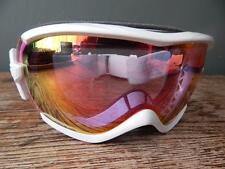 SMITH SKI GOGGLES WHITE MIRRORED LENS PINK / ORANGE TINT