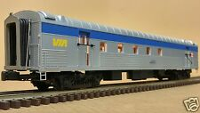 MTH 'O' Scale 3 Rail - Premier #20-68118 VIA Rail 70' Streamlined RPO Ribbed