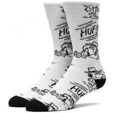 HUF Spike Needles Crew Sock - Snoopy Socks in White