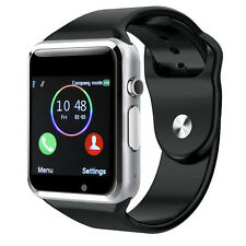 New Bluetooth A1 Smart Wrist Watch For iPhone Samsung HTC Android W/ Camera SIM