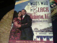 Who's Who in Black Washington, D,C, the Inaugural Edition 2009 s24