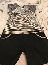 Catimini Girls Shorts And Top Set Age 10