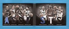 STEPHEN CURRY RUSSELL WESTBROOK DERRICK ROSE 7 GAME USED JERSEY CARD WILLIAMS