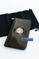 BNWT MIMCO $199 MIM Travel Wallet Clutch Black Patent Leather w/dust bag