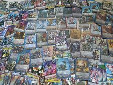 Cardfight! Vanguard Collection LOT 100+ Cards R RR RRR Boosters FREE SHIPPING