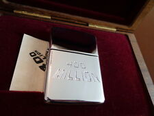 EMPLOYEE ONLY 400 MILLION ARMOR ZIPPO LIGHTER IN CUSTOM WOOD BOX MINT IN BOX