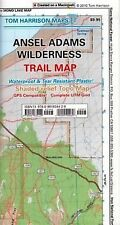 Tom Harrison Maps: Ansel Adams Wilderness Trail Map : Shaded-Relief Topo Map...