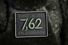 Country of Russia 7,62, Russian Tactical army morale military patch