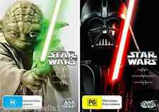 STAR WARS PREQUEL & TRILOGY : Complete Collection 1+2+3+4+5+6 : NEW DVD