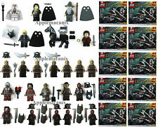 NEW LEGO Lord of the Rings LOTR HUGE ORC/URUK-HAI MINIFIGURE LOT White Hand/Poly