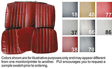 1980-1981 CHEVY CAMARO COUPE STANDARD VINYL REAR SEAT COVER  8 COLORS AVAIL.