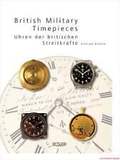 Fachbuch Britische Militäruhren, British Army/Navy, tolle Dokumentation, NEU OVP