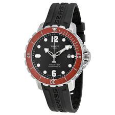 Tissot TSport Seastar 1000 AutomaticBlack Rubber Mens Watch TIST0664071705703