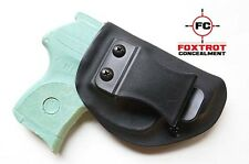Ruger LCP 380 IWB Concealed Carry Kydex Holster Right Hand Draw Black