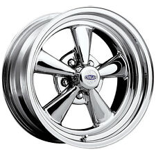 "Cragar 61C S/S 15x7 5x4.75"" +0mm Chrome Wheel Rim"