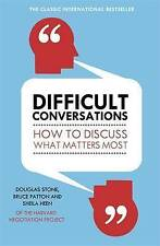 Difficult Conversations, Bruce Patton