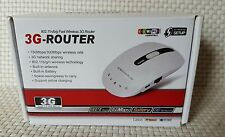 MiFi 3G Wireless Router 150Mbps/300Mbps