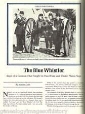 The Blue Whistler Canon of the Civil War + Genealogy