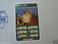 22 SUPER TRAIN H4 ICE 3 DB TREIN KWARTET KAART, QUARTETT CARD