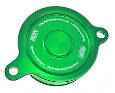 MDR Bling Oil Filter Cover Kawasaki KXF 450 06-ON Green MDOFC-09310N