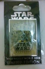 NEW Disney World Star Wars Weekends 2008 Donald as Stormtrooper Logo Pin LE