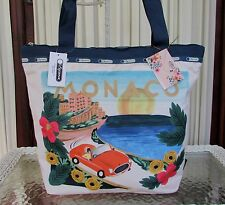 LeSportsac Rifle Paper Co. Hailey Tote Monaco Travel Bag LIMITED EDITION NWT