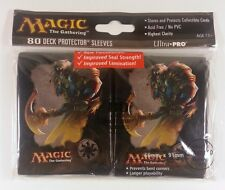 Magic the Gathering Sleeves Mana 4 (80) White - Weiss - Ajani