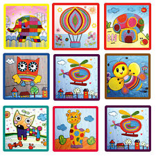 Kids Rope Painting Paste Creative DIY Handmade Crafts Early Educational Toy New