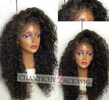 Short Curly Human Hair Lace Front Wigs For Black Women Indian Remy Hair Wig 14""
