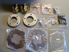 "Quadrax Honda Rancher 350 400 4x4 w/12"" wheels Front Disc Brake Conversion Kit"