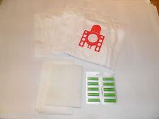 5 Sacchetti per aspirapolvere Miele FJM Super Air clean S571 Aspirapolvere Hoover Polvere Sacchetti + 10 Deodoranti