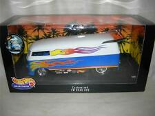 CUSTOMIZED VW DRAG BUS HOTWHEELS BY MATTEL 1999 1:18 SC.DIECAST NEW.MIB