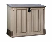 Keter Store It Midi Outdoor Storage SHED, All Weather Patio Resin STORAGE UNIT