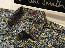 """PAUL SMITH Mens Shirt ��Size 16.5"""" (CHEST 44"""")�� RRP £95+�� FLORAL LIBERTY STYLE"""