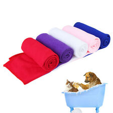 Pet Supply Fast Drying Absorbent Pet Grooming Microfiber Towel for Pet Dog Cat