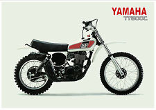 YAMAHA Poster TT500 TT500C 1976 VMX Superb Suitable to Frame