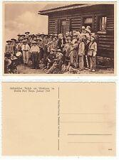 Radebeul Dresden,Indianer am Blockhaus von Karl May American Indian Sioux ? 1928