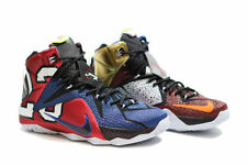 NIKE LEBRON 12 XII SE (LEBRON JAMES) (WHAT THE.. EDITION)..MULTI-COLOR.. SIZE 14